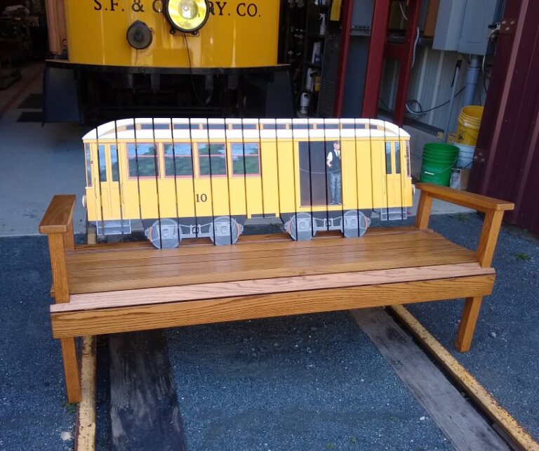 trolley-bench